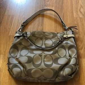 Coach handbag. 2 way wear!